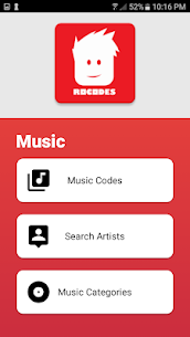 RoCodes – Roblox Music & Game Codes 1