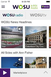 WOSU Public Media App screenshot 1