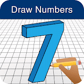 How to Draw 3D Numbers