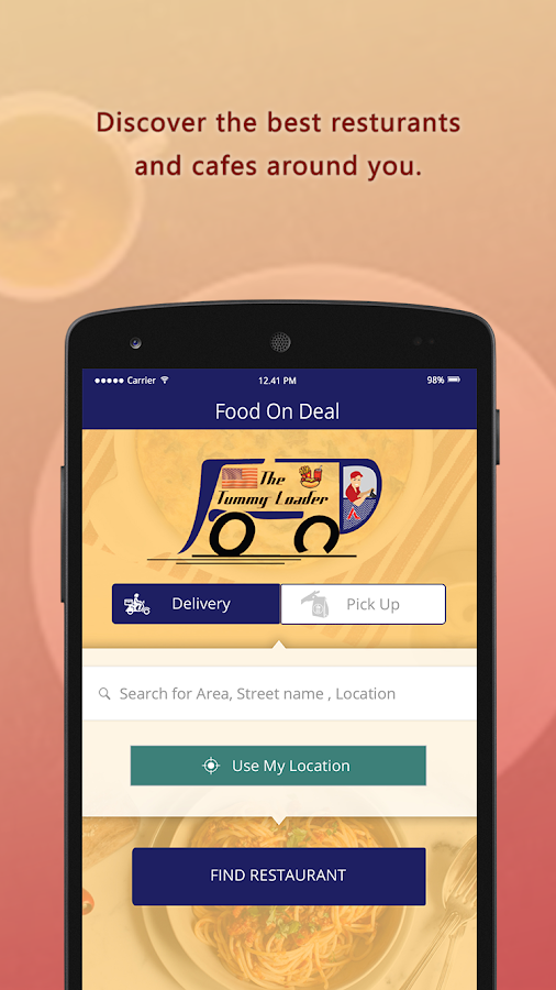 Food On Deal- screenshot
