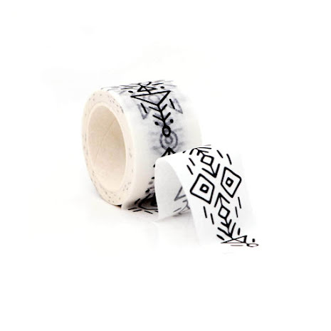 Altenew Washi Tape - Aztec Art Border
