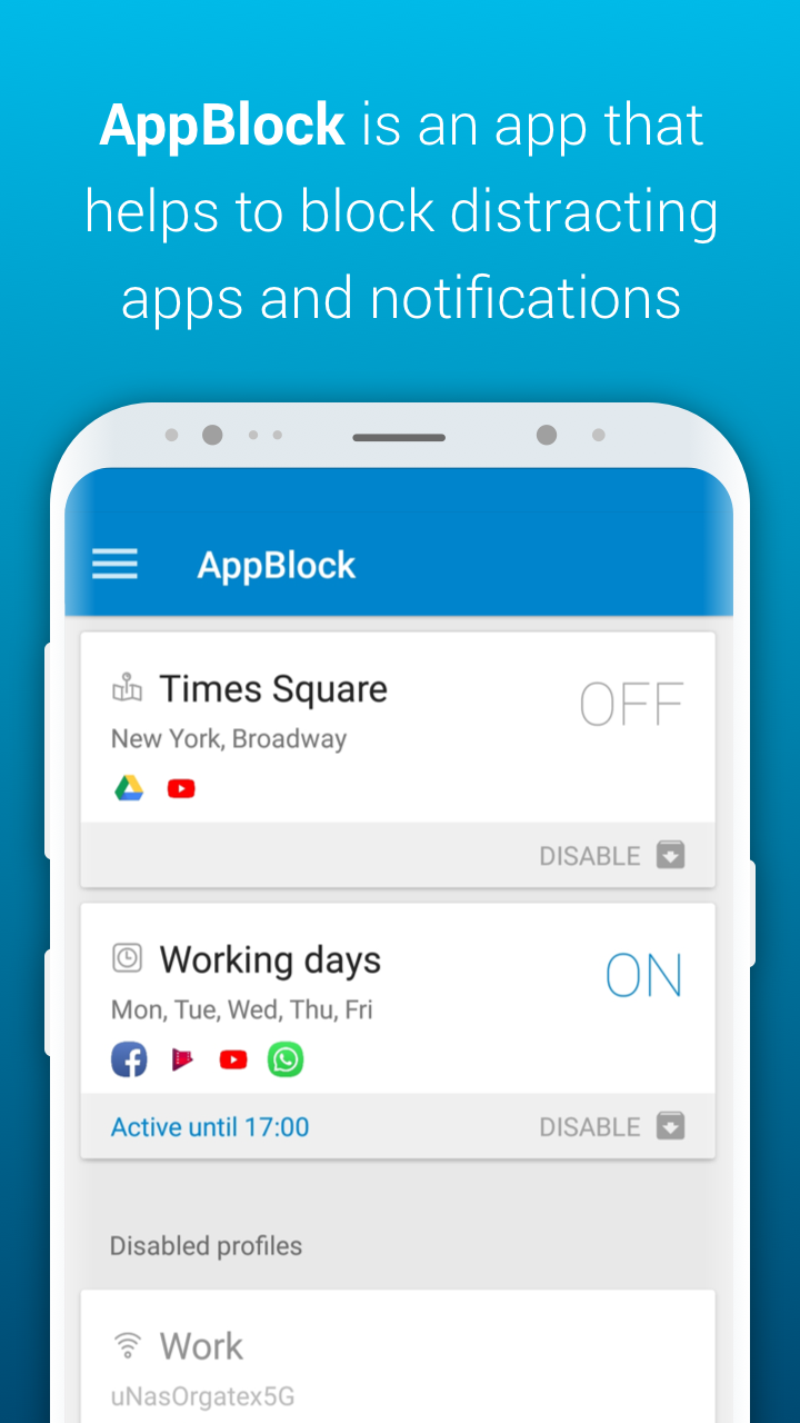 AppBlock - Stay Focused Screenshot 0