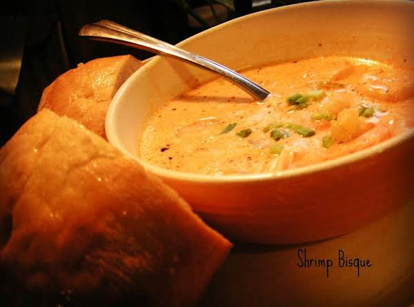 Cajun Shrimp Bisque - Dee Dee's Recipe