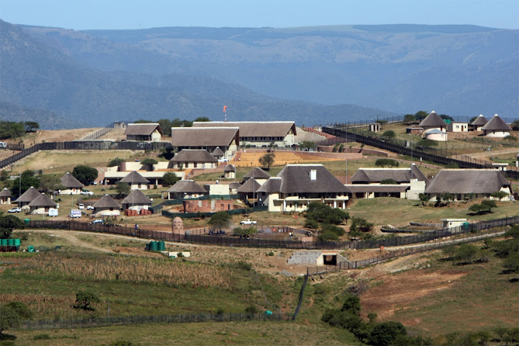 President Jacob Zuma's residence in Nkandla. Picture: SOWETAN/SUNDAY WORLD