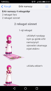 Namaz Kitaby - náhled