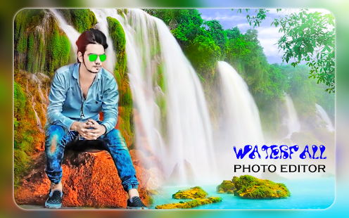 Waterfall Photo Editor - Waterfall Photo Frames - náhled