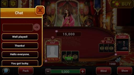 Universal Teen Patti - Indian Poker Game 0.24 gameplay | by HackJr.Pw 10