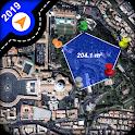 Geo Area Calculator Earth Map icon