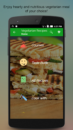 玩免費遊戲APP|下載Vegetarian Recipes SMART Book app不用錢|硬是要APP
