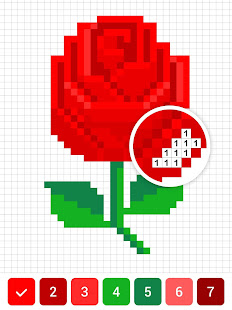 Game Draw.ly - Color by Number Pixel Art Coloring APK for Windows Phone