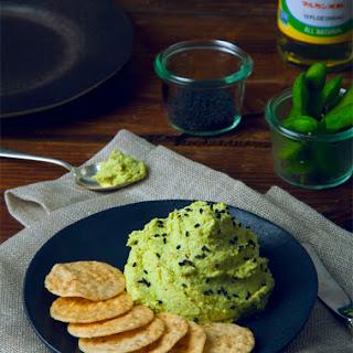 Edamame Wasabi Hummus (Vegan, High Protein)