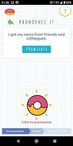 Donut Language Game screenshot 3