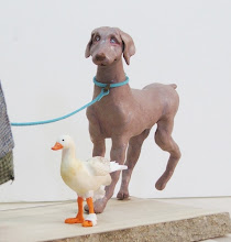 Photo: the dog and duck of the savta
