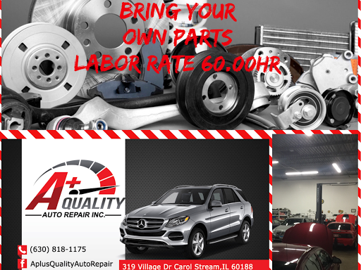 Bring Your Own Parts Auto Repair >> A Quality Auto Repair Auto Repair Shop In Carol Stream