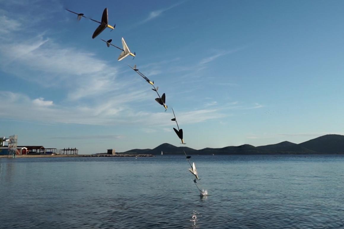 The AquaMav drone