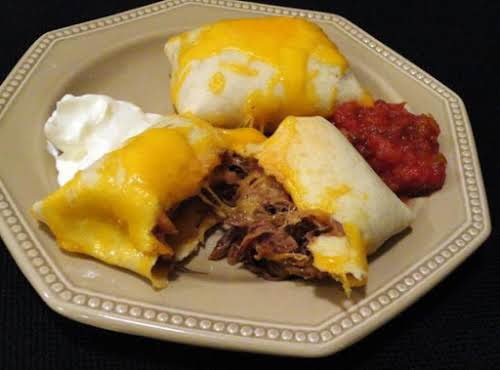 "Baked Beef Chimichangas ""OMG...these were awesome!!! I am going to try again..."