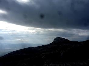 Photo: Un tremplin vers les nuages.