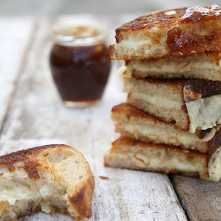 Marcona Almond & Fig Grilled Cheese.