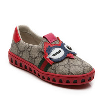 Gucci Toddler GG Owl Trainer TODDLER SLIP ON