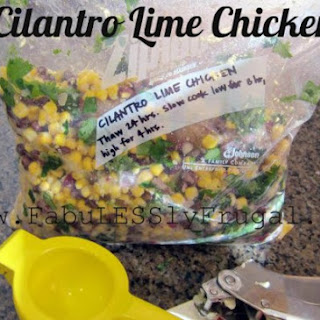 Cilantro Lime Chicken {Slow Cooker}