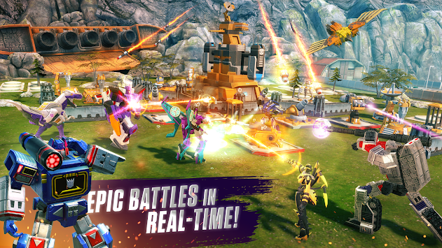TRANSFORMERS: Earth Wars apk screenshot