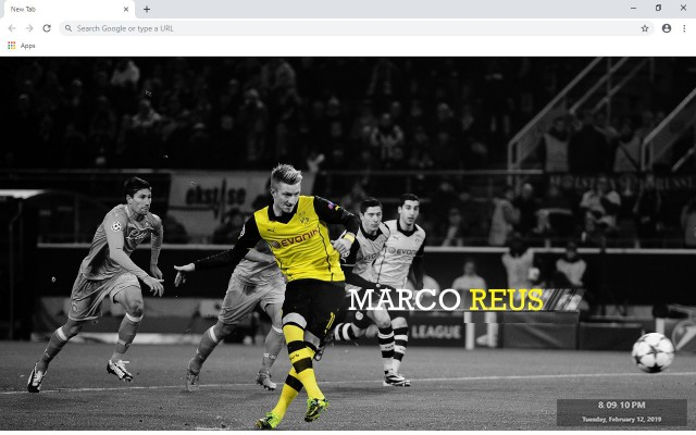 Marco Reus New Tab & Wallpapers Collection