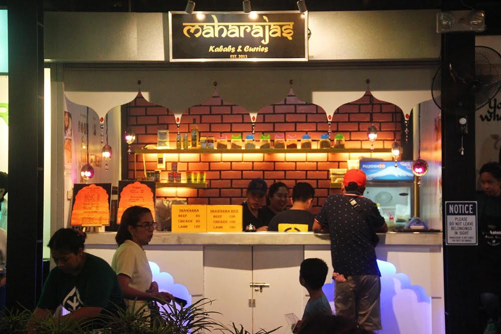 Maharajas Kababs Stall