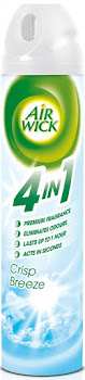 Air Wick 4 In 1 Compressed Air Freshener Spray - Crisp Breeze