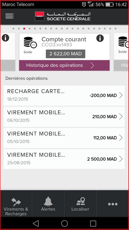 Extrêmement Société Générale Maroc - Android Apps on Google Play QX36