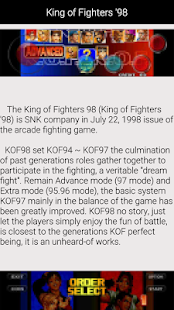King of Fighters 98: miniatura da captura de tela