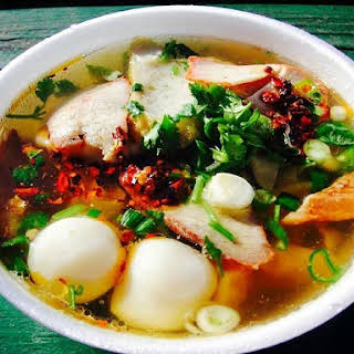 The Hirshon Thai Wor Wonton Soup – เกี๊ยวน้ำ.