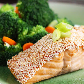 Easy Sesame Salmon