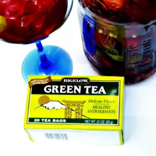 Green Tea Benefits and Green Tea Sangria.
