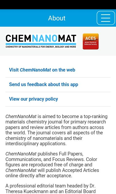 ChemNanoMat- screenshot