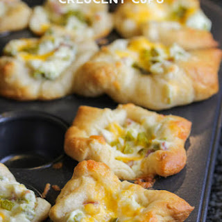 Jalapeno Popper Crescent Cups