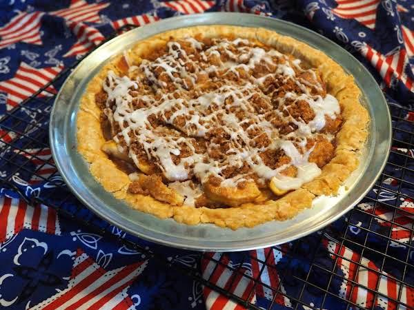 Apple Streusel Pie (no Butter) Recipe
