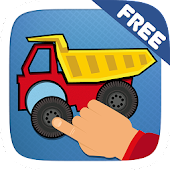 Kids Toddler Car Puzzle Game