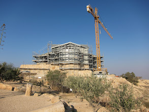 Photo: New chapel under construction