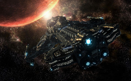 Spaceship HD Live Wallpaper