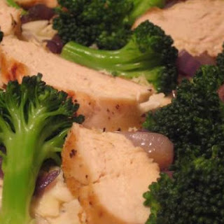 Chicken and Broccoli Pizza With Lemon Peppercorn Sauce