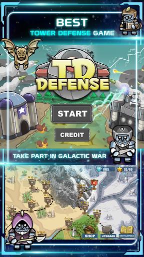 Star TD - Galaxy Defense Game 1.5 screenshots 1