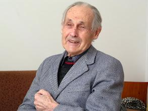 Photo: Korvin János egy 2012 februári vezetőségi tanácskozáson buzdít az Igéből