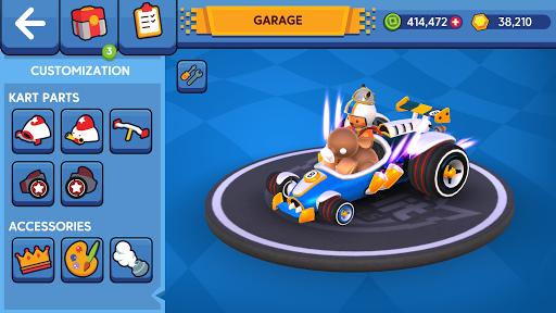 Starlit On Wheels: Super Kart 3.3 screenshots 4
