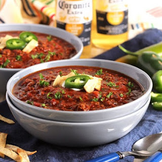 Slow Cooker Sweet and Spicy Chili.