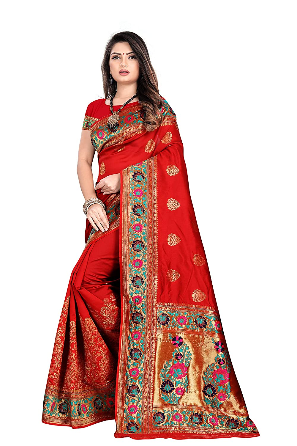 Women's Paithani Silk Saree