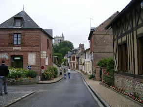Photo: For our final stop, on the way back to Paris, we visit Le Bec Hellouin, designated one of the Fifty Most Beautiful Villages of France.