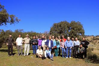 Photo: El grupo en la Mina Santa Paula. Baños de la Encina.