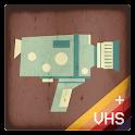 Vintage Retro Camera + VHS icon