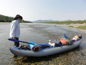 Photo: Б.Лахорта - мелко, даже к берегу не подойти.
