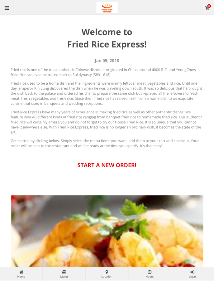 Fried Rice Express Chicago- screenshot
